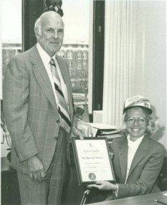 MSU President Gordon Guyer